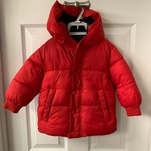 Zara baby boy girl outwear puffer coat size 12-18m